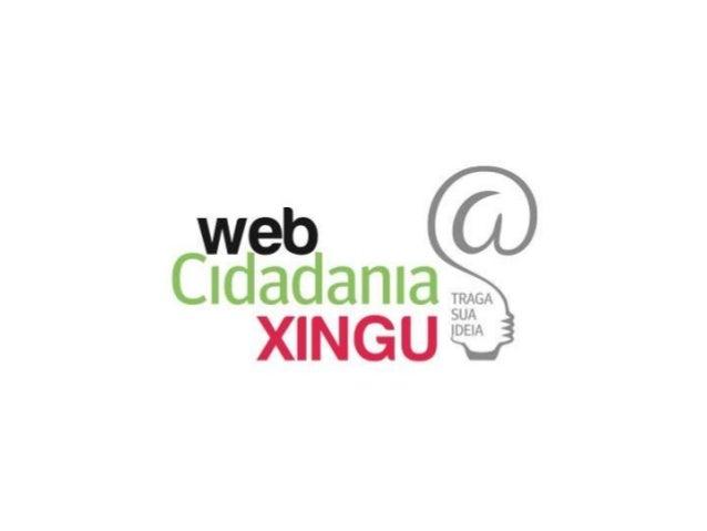 1. Concurso WebcidadaniaXing u 2. Entrevista 3. Registro de inspirações e propostas