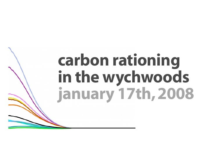 carbon rationing in the wychwoods january 17th, 2008