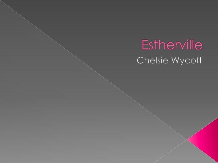 Estherville<br />Chelsie Wycoff<br />