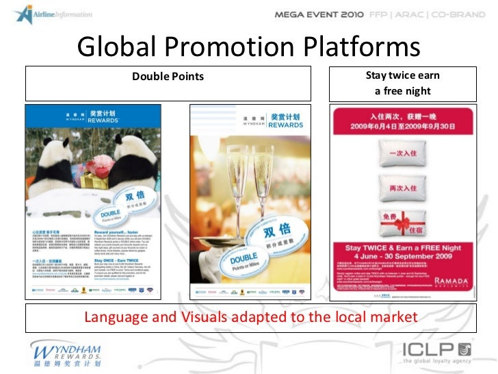Global Promotion Platforms      Double Points                     Stay twice earn                                         ...