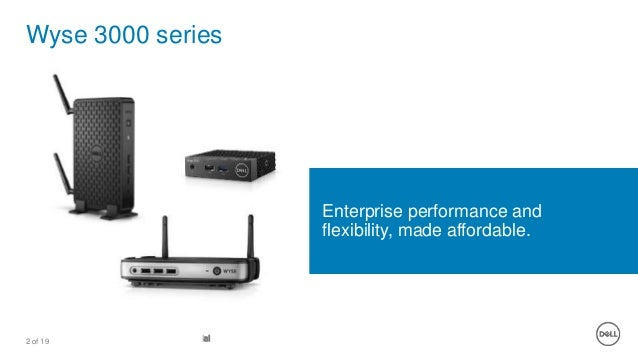 Wyse 3040 Thin Client
