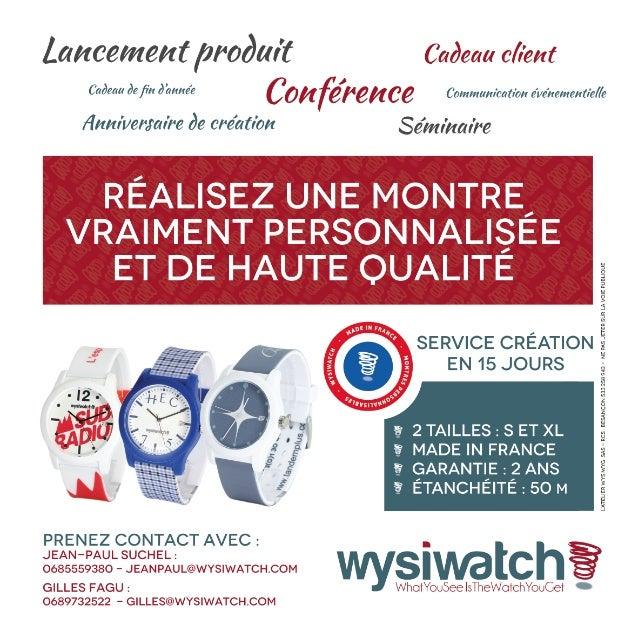 Wysiwatch : la montre personnalisée
