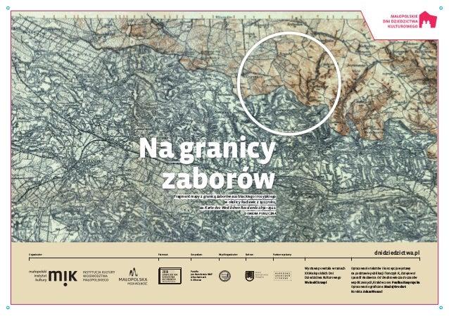 Wystawa powstała w ramach XX Małopolskich Dni Dziedzictwa Kulturowego Wolność krzepi Opracowanie tekstów i koncepcja wysta...