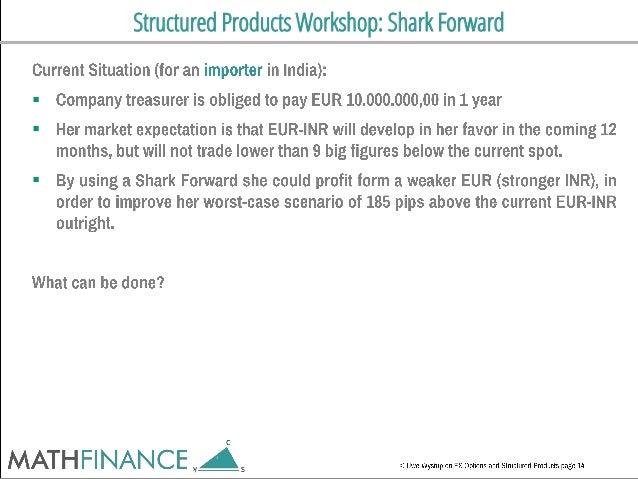 Structured Products Workshop: Shark Forward   
