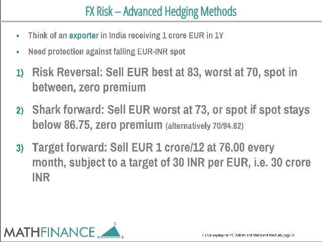 FX Risk – Advanced Hedging Methods  