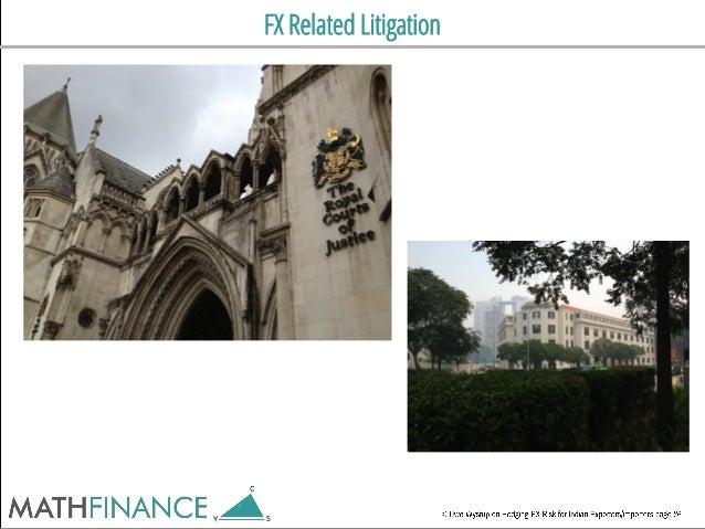 FX Related Litigation