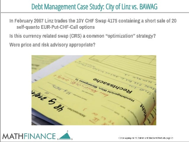 Debt Management Case Study: City of Linz vs. BAWAG