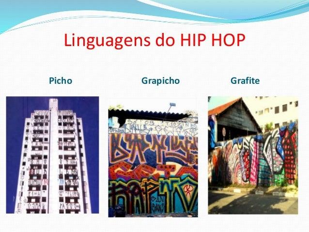 Linguagens do HIP HOP Picho Grapicho Grafite