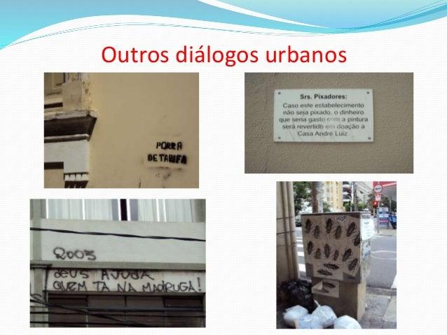 Outros diálogos urbanos