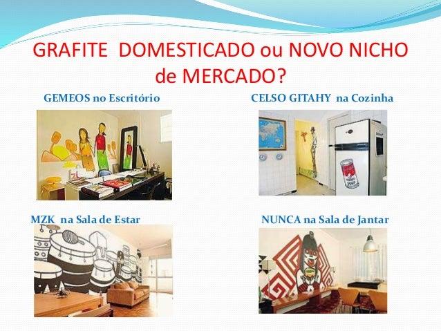 GRAFITE DOMESTICADO ou NOVO NICHO de MERCADO? GEMEOS no Escritório CELSO GITAHY na Cozinha MZK na Sala de Estar NUNCA na S...