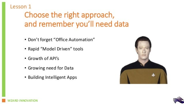 Robotic Automation - Lessons Learned in the Fast Track Journey Slide 3