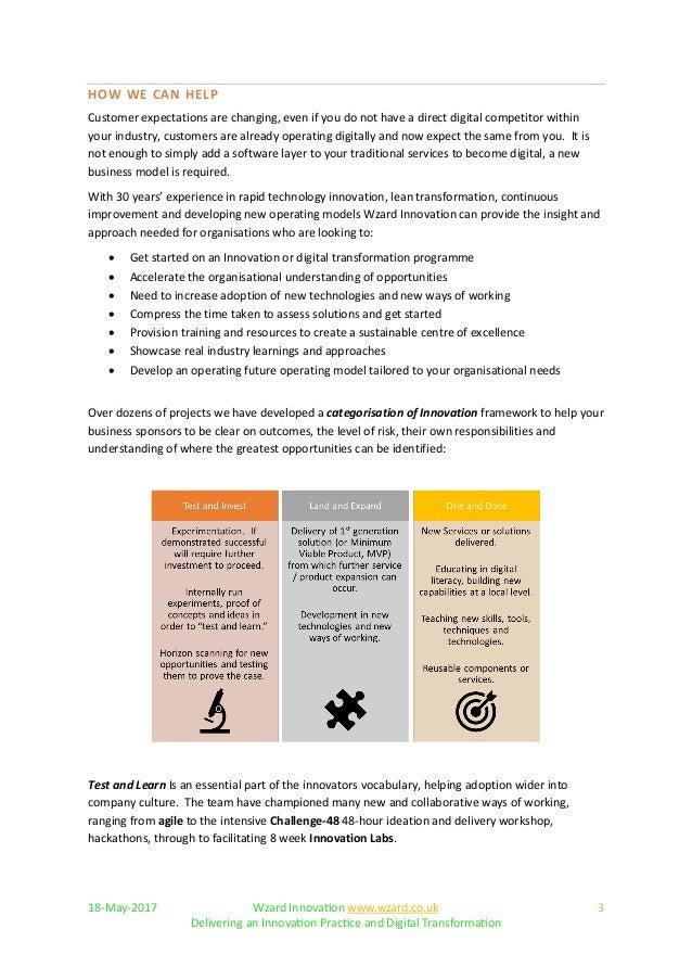 Wzard - Innovation Practice Overview Slide 3