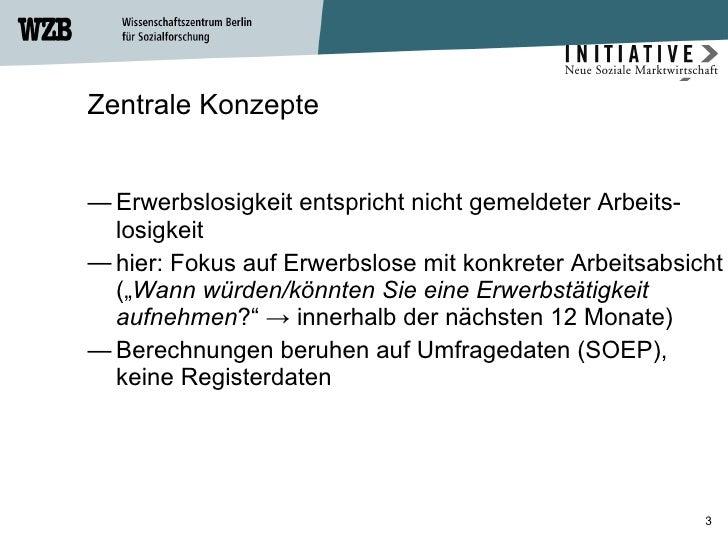 Einstiegswege in den Arbeitsmarkt Slide 3