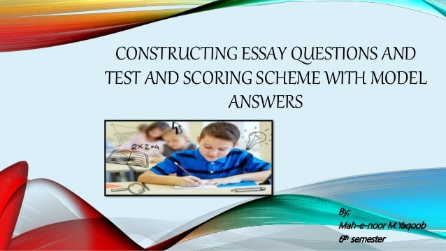 essay type test in education One type of university education is a liberal arts education, which can be defined as a college or university curriculum aimed at imparting broad general knowledge.