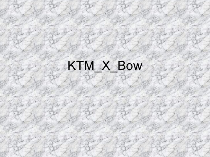 KTM_X_Bow