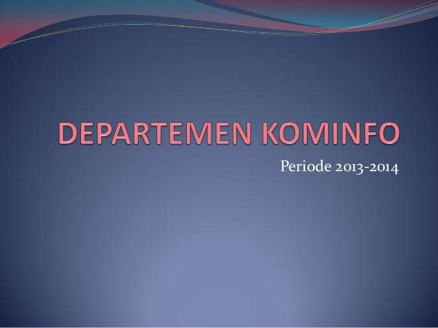 Periode 2013-2014