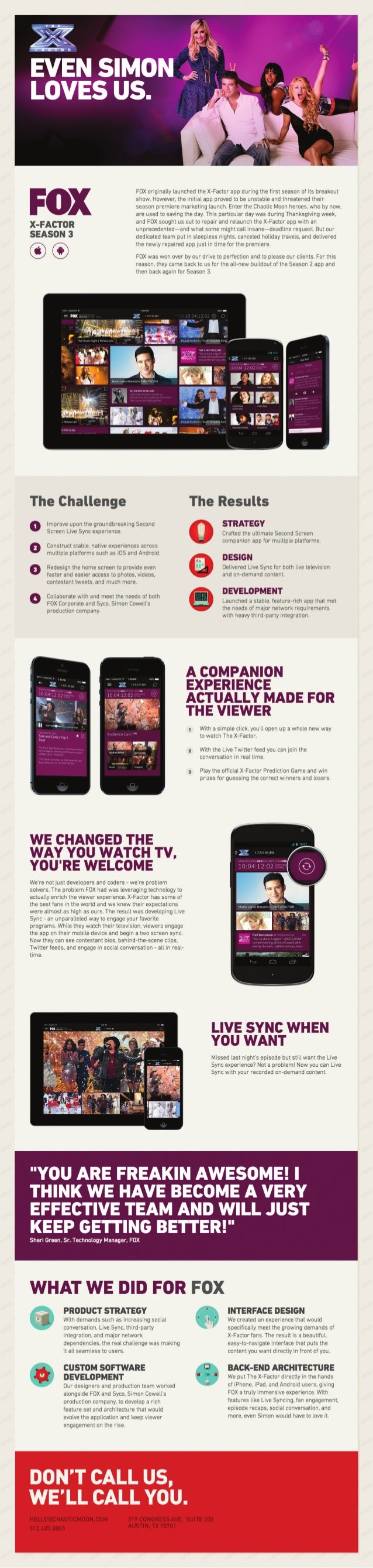 The X-Factor App: One Of TV's Biggest Hits