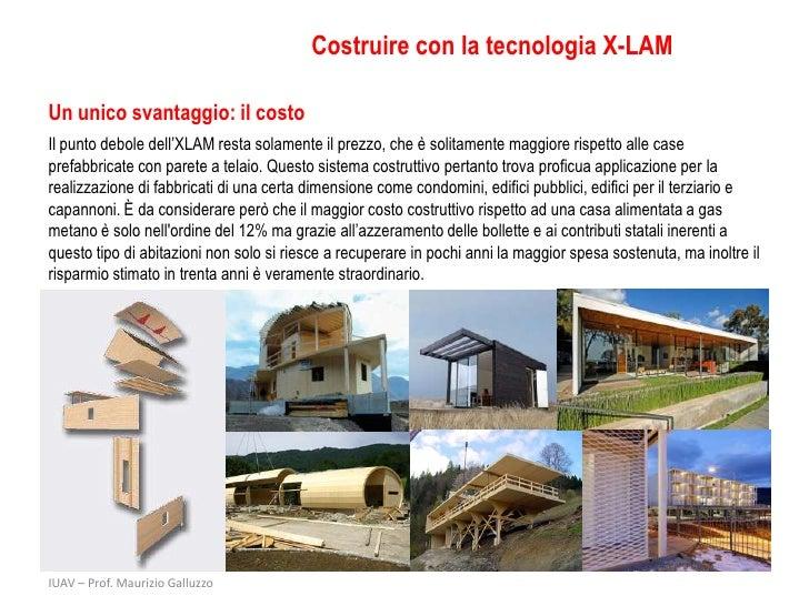 X lam costruire con il legno for Xlam prezzo