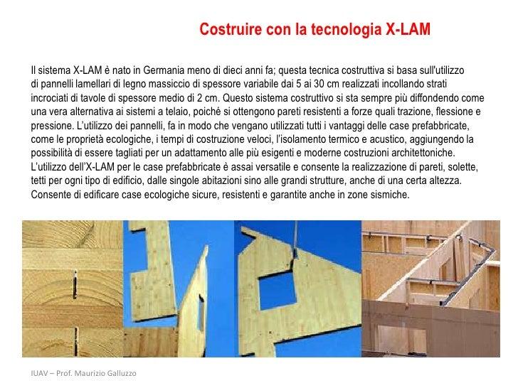 X lam costruire con il legno - Costruire casa in economia ...