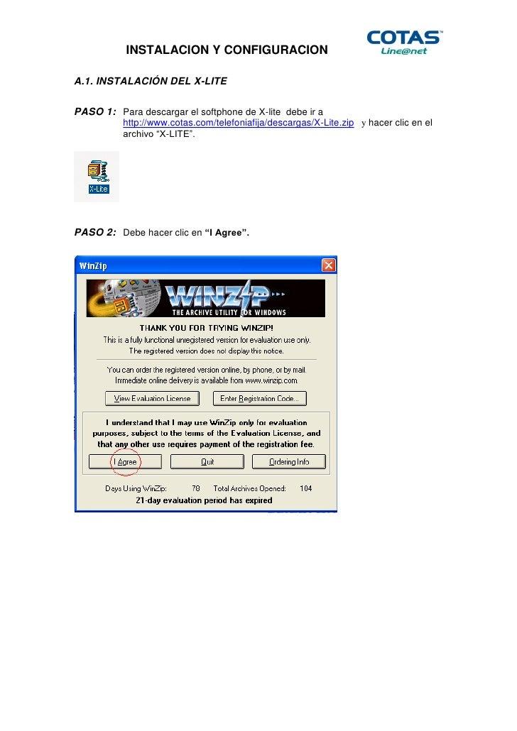 INSTALACION Y CONFIGURACIONA.1. INSTALACIÓN DEL X-LITEPASO 1: Para descargar el softphone de X-lite debe ir a          htt...