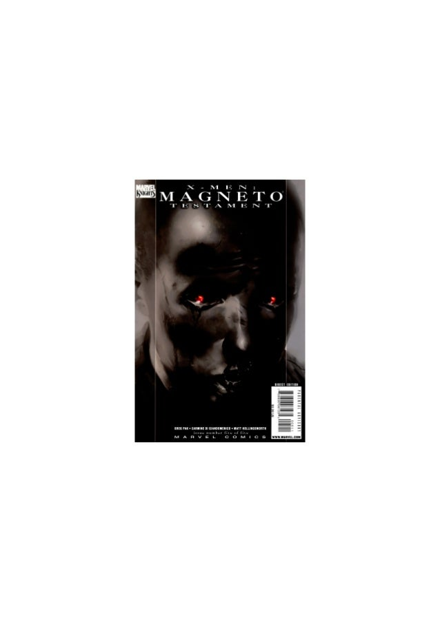 X men magneto testament 05