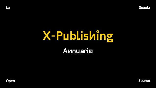 X-Publishing Annuario