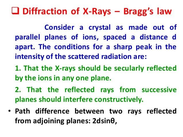 Braggs Law Pdf
