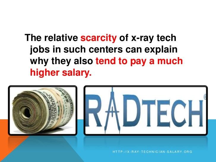 X-Ray Technician Salary