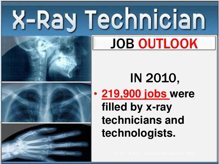 job - X Ray Technologist Job Description