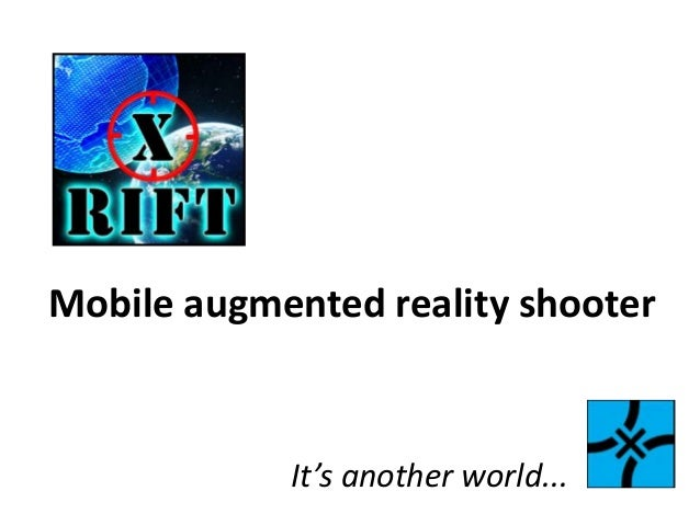 Mobile augmented reality shooterIt's another world...
