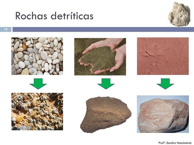 Rochas detríticas 18 Profª: Sandra Nascimento