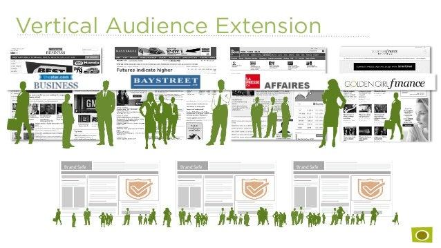 Vertical Audience Extension Brand  Safe   Brand  Safe  Brand  Safe