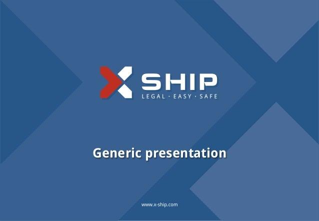 Generic presentation