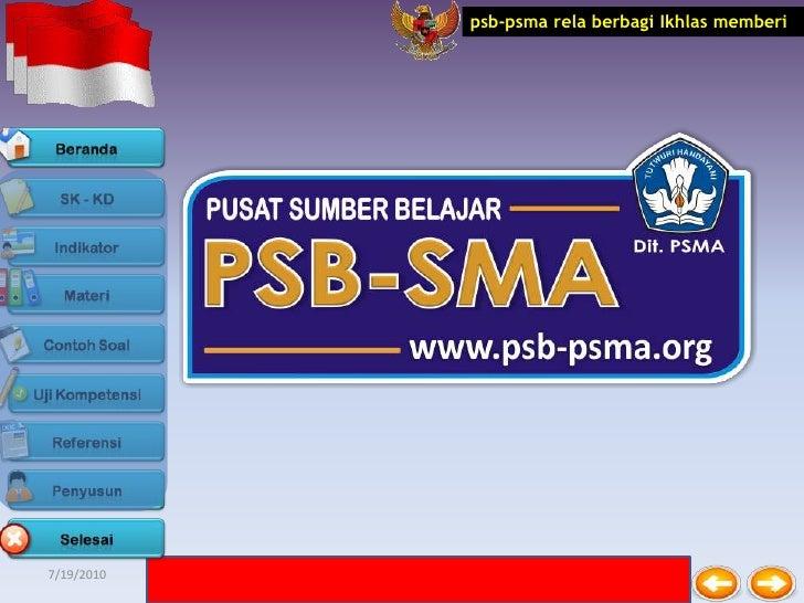 psb-psma rela berbagi Ikhlas memberi7/19/2010