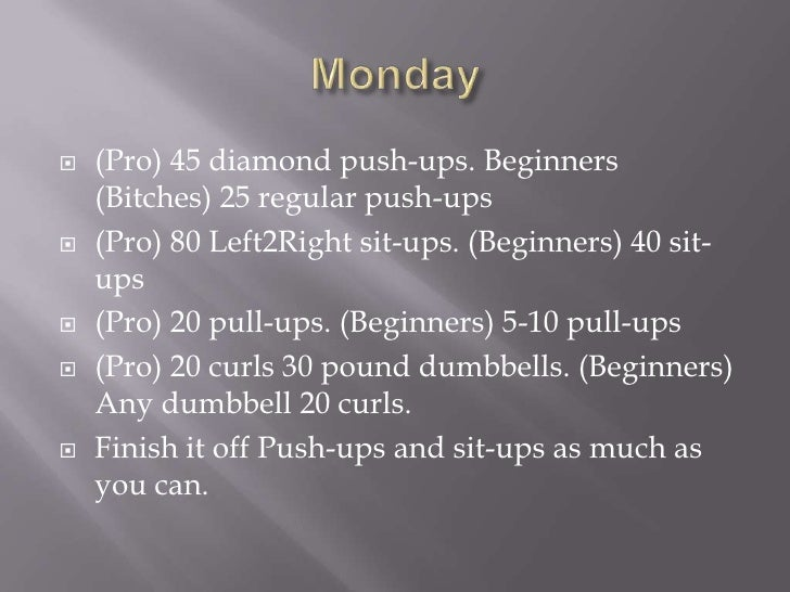 X10 alex work out schedule