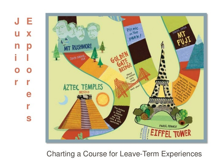 Junior Explorers<br />Charting a Course for Leave-Term Experiences<br />