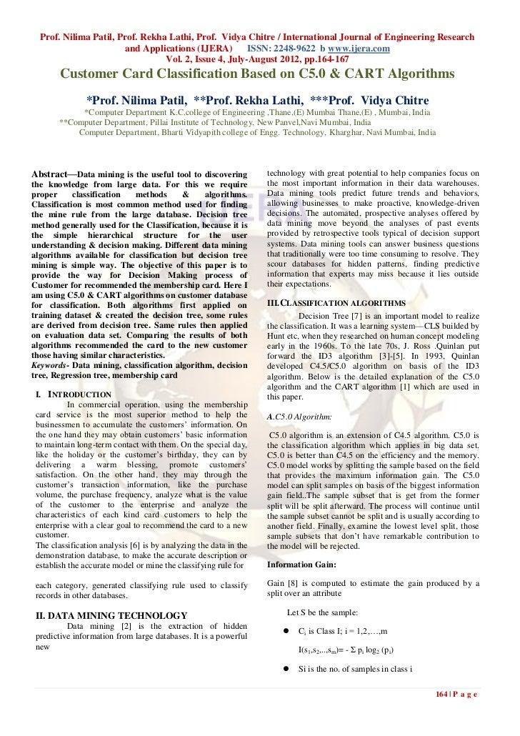 Prof. Nilima Patil, Prof. Rekha Lathi, Prof. Vidya Chitre / International Journal of Engineering Research                 ...