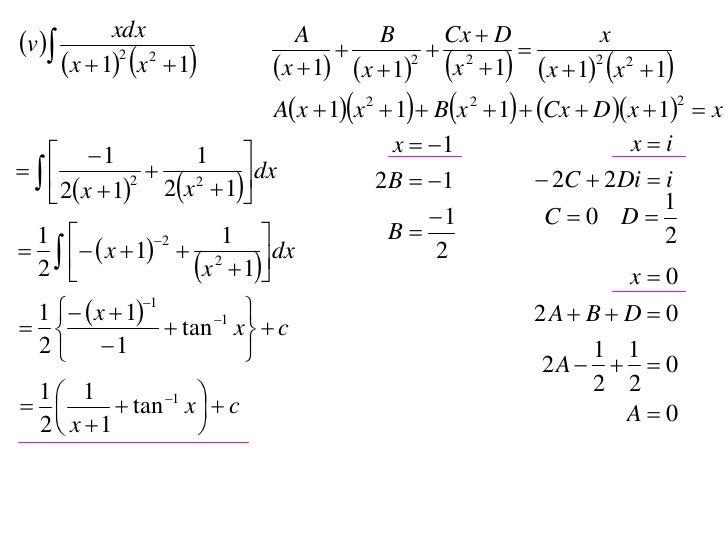 X2 T05 06 Partial Fractions 2010