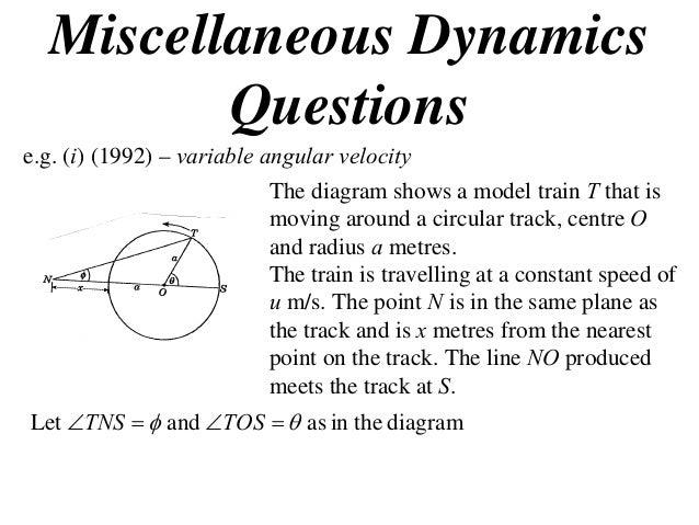 X2 t06 07 miscellaneous dynamics questions (2013)
