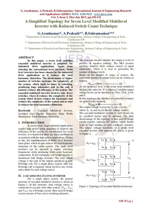 G.Arunkumar, A.Prakash, R.Subramanian / International Journal of Engineering Researchand Applications (IJERA) ISSN: 2248-9...