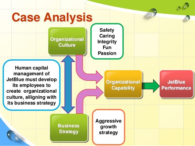 jetblue airways starting from scratch case analysis Jet blue airways: starting from scratch 7s approach  business solution +   capital veterans from airline industry as top management (started from scratch.