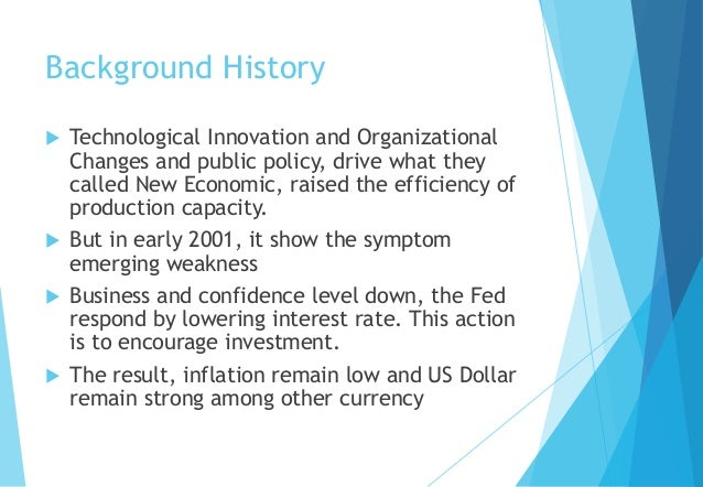 The US Condition in 2001 Slide 2