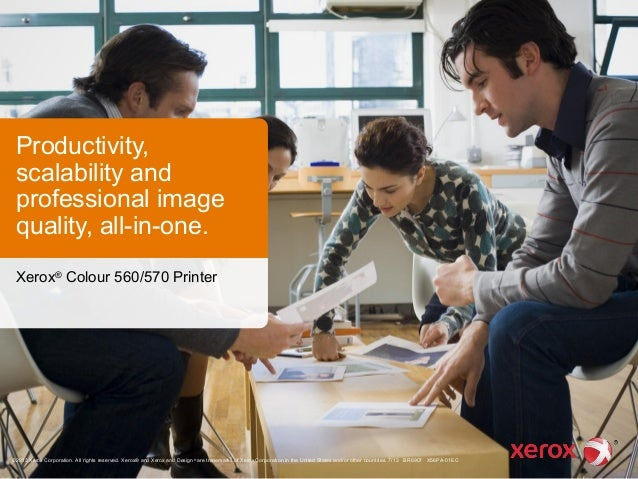Xerox® Colour 560/570 Printer