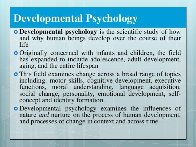 Lifespan Development and Personality
