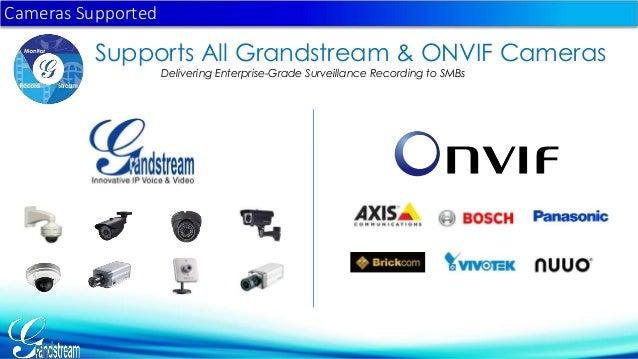 Grandstream Network Video Recorder GVR3550 presentation