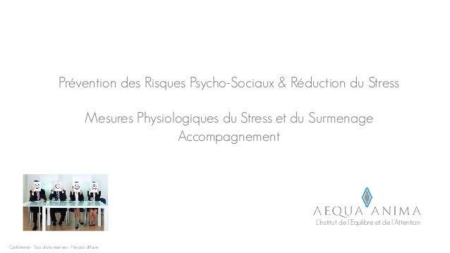 Présentation mesure stress by aequa anima