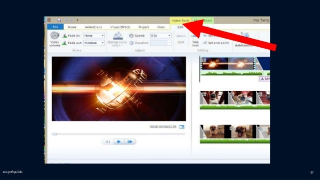 how to use movie maker windows 8