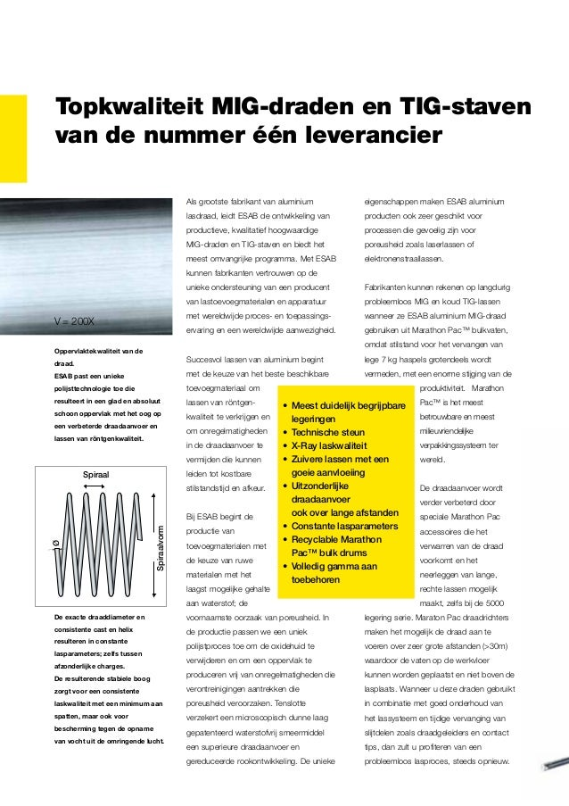 Topkwaliteit MIG-draden en TIG-staven van de nummer één leverancier Als grootste fabrikant van aluminium  eigenschappen ma...