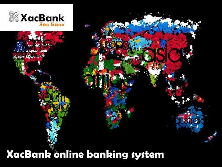 XacBankonline banking system<br />