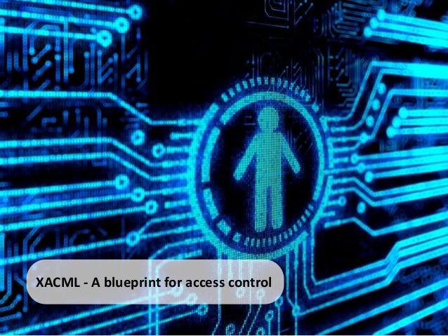 XACML - A blueprint for access control